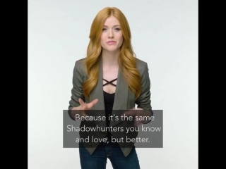 Katherine McNamara about ShadowhuntersSeason3
