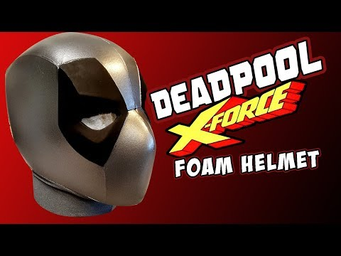 DEADPOOL XForce foam Helmet tutorial