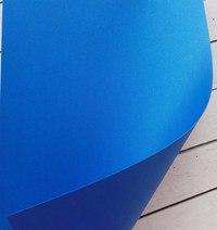 000417 Кардсток SHYNE blue 30*30см 290гр/м2  СИНИЙ ПЕРЛАМУТР Обрезки 30*10 - 15 р. за лист 70 руб
