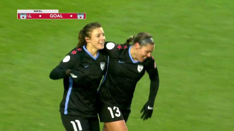 GOAL: Lauren Kaskie scores her first NWSL goal