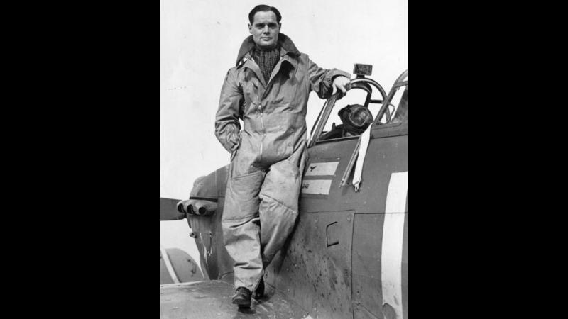 Это ваше жизнь капитан группы RAF Дуглас Бадер Боец туз герой битвы за Британию