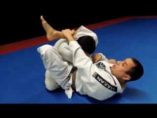 Triangle choke from guard - brazilian jiu-jitsu - bjj