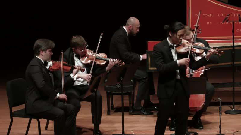 1041 J. S. Bach - Violin Concerto in A minor, BWV 1041 - Sean Lee violin