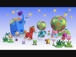 Деревяшки - Бал - Серия - 48 - развивающие мультики для малышеи