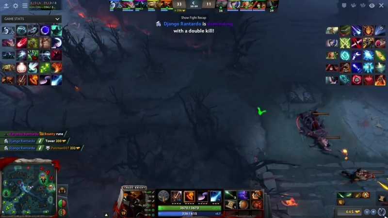 X Mark Gaming One Hit RAMPAGE Broken Ability Draft Combo Moon Glaives Swashbuckle = Unlimited Glaives Dota 2