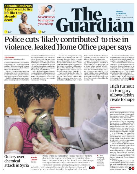 The Guardian - April 9, 2018