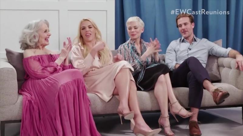 Актеры Бухты доусона пытаются вспомнить песню из заставки сериала People 2018