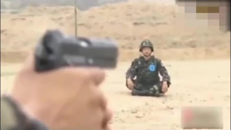 Вот что бывает когда китайский спецназ узнает легенду о Вильгельме Телле