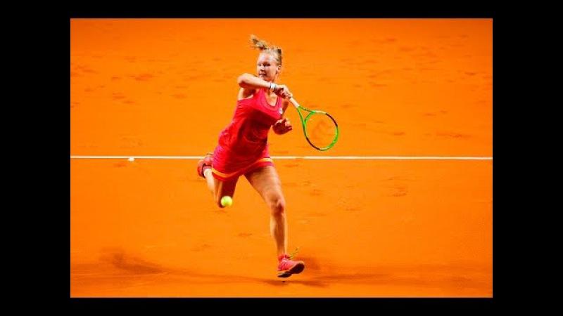 2017 Mutua Madrid Open Second Round Kiki Bertens vs Timea Bacsinszky WTA Highlights
