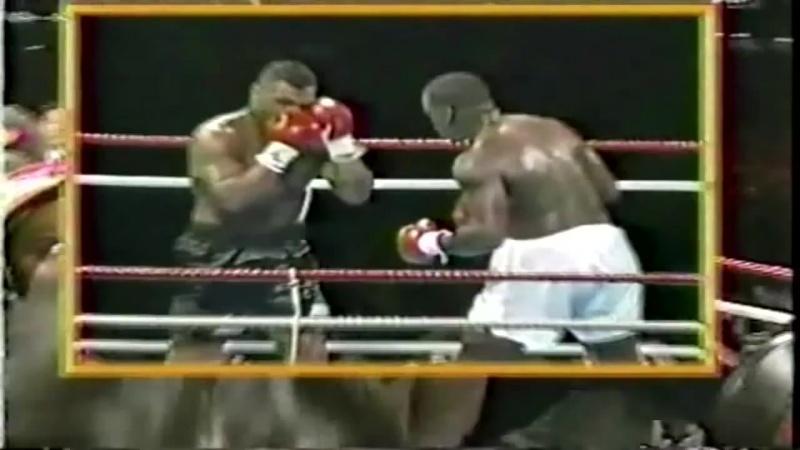 Майк Тайсон---Джеймс Бастер Даглас : первое поражение Тайсона (1990)