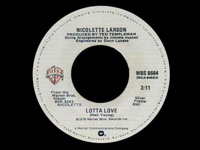 Nicolette Larson ~ Lotta Love 1978 Disco Purrfection Version