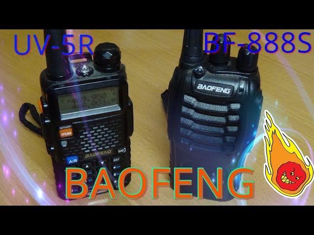 Рации BAOFENG BF888S и BAOFENG UV-5R как подружить (вручную),без компьютера.