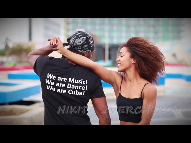 Salsa cubana en Malecon La Habana Cuba Victor y Lisandra