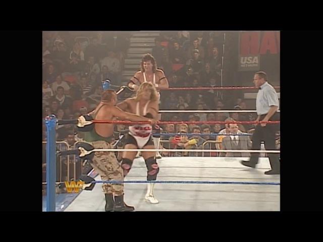 Bushwhackers vs Well Dunn w/Harvey Whippleman (Dec/05/1994)