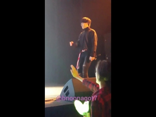 FANCAM 161111 Югём - Just Right @ Fan-Meeting in Vancouver (Canada).
