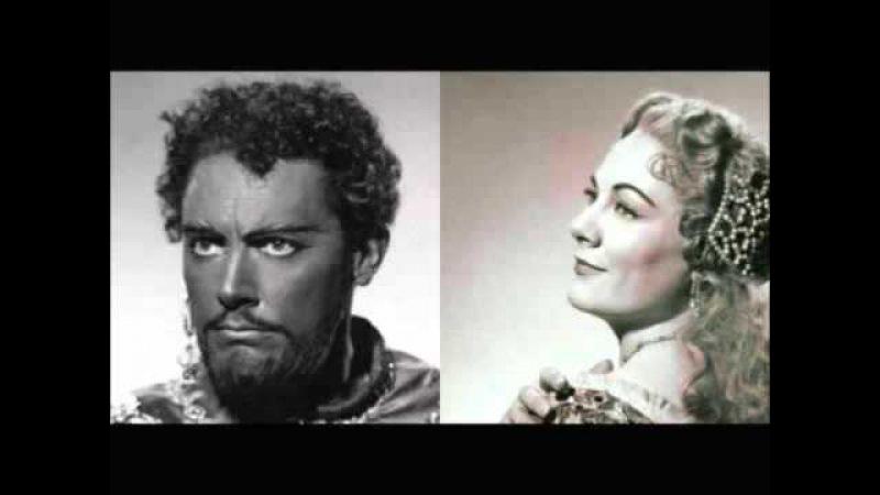 Renata Tebaldi Mario del Monaco Dio ti giocondi Otello 1961