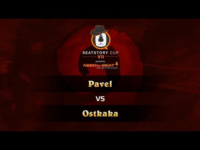 Pavel vs Ostkaka SeatStoryCup 7 Group Stage