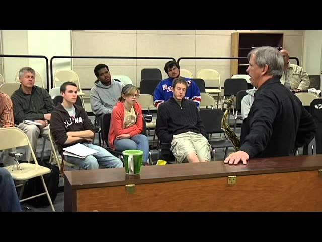 Loyola University New Orleans Dick Oatts Masterclass