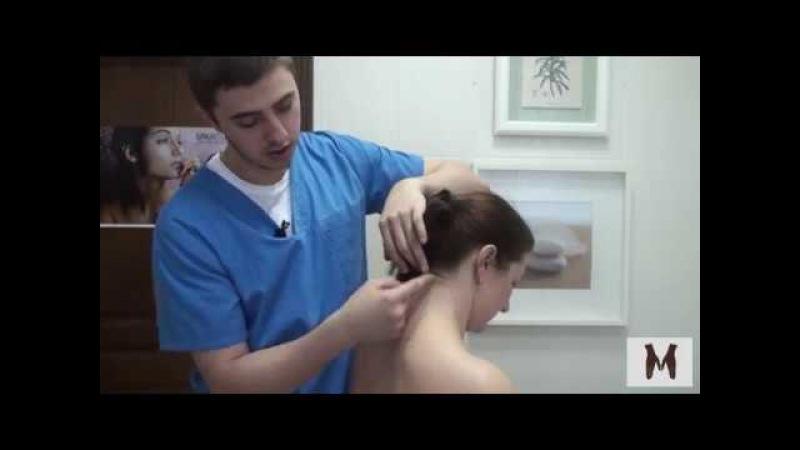 Как быстро убрать триггеры в шее и снять функциональный блок
