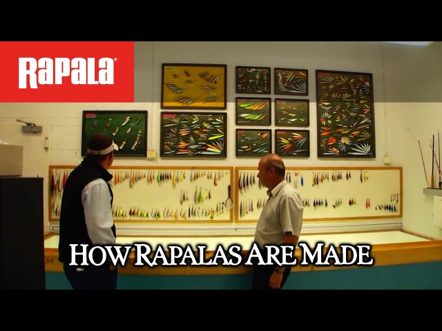 How Rapala® lures are made Made For The Outdoors