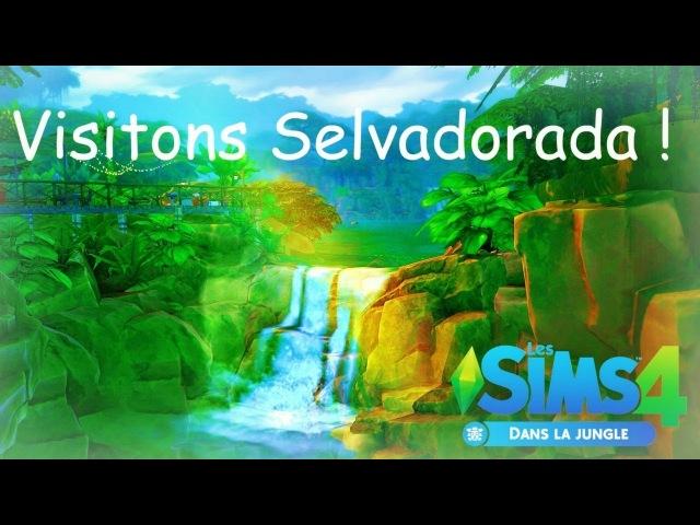Visitons Selvadorada !   DANS LA JUNGLE   Les Sims 4