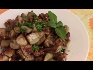 Баклажаны жареные с луком как грибочки. Как приготовить вкусные баклажаны.