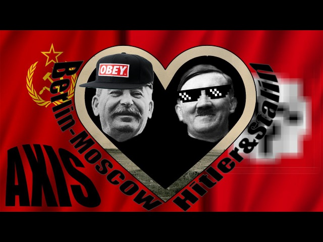 Berlin-Moscow Axis Love Story! (Also a HOI4 speedrun)