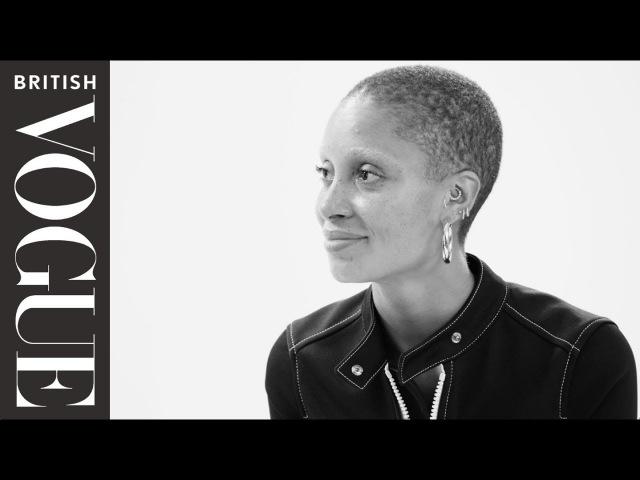 Edward Enninful Meets… Adwoa Aboah The December 2017 Issue British Vogue