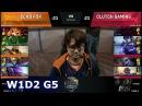 Echo Fox vs Clutch Gaming | Week 1 Day 2 of S8 NA LCS Spring 2018 | FOX vs CG W1D2 G5