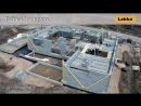 Возведение дома из блоков Lakka EMH-400 PRO, часть 3 (стены)