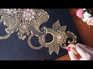 DIY Henna mehendi Art by Valerie point step by step | Валерия Мехренгина