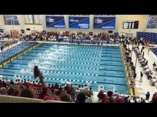 Caeleb Dressel 50 freestyle - 18.2