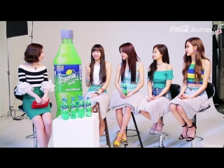 [jbp] sprite's new model blackpink interview 180518 [рус.саб]