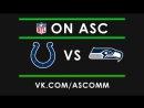 NFL Indianapolis Colts vs Seattle Seahawks