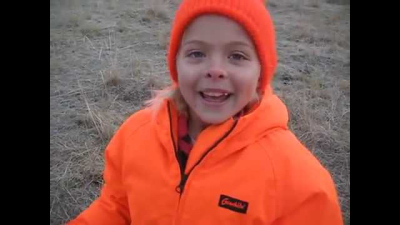 Savannah s first deer hunt. Dad is this normal I m not cold I m just shaking