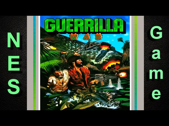 Guerrilla War (Revolution) NES / Dendy полное прохождение [094]