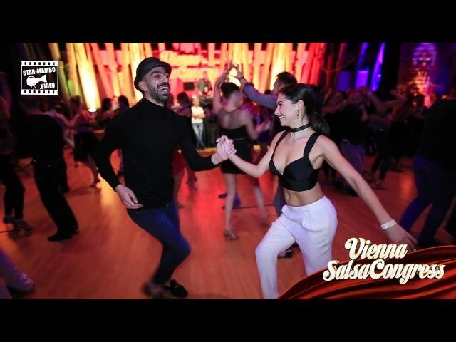 Panagiotis Elena - social dancing @ Vienna Salsa Congress 2017