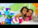 Игры для девочек! Дети играют в ПЛАСТИЛИН Плей До 🌼 поделки из пластилина! Много