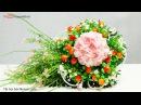 26.1: Làm hoa Cẩm Tú Cầu bằng giấy nhún - Hydrangea (Hortensia) paper flower tutorial