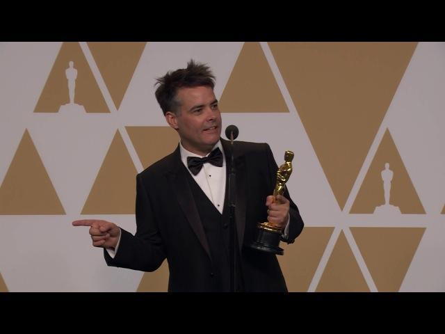 'A Fantastic Woman' Sebastián Lelio Best Foreign Language Film Backstage Interview