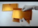 S438, Orange Color, Shimmery Finish Paper, Scroll Invitations, Jewish Invitations, Wedding Scrolls