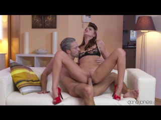 Katy rose (hard fast passion fuck and creampie) [brunette, blowjob, cowgirl, doggystyle, gonzo, creampie, 1080p]