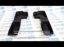 Боковые резиновые коврики пола на Лада Приора, ВАЗ 2110, 2111, 2112 |