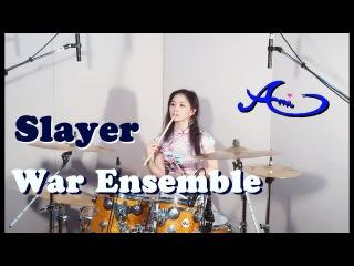 Slayer - War Ensemble drum cover by Ami Kim (1th)