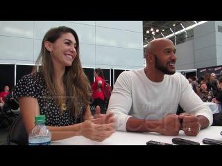 NYCC 2017: Agents of SHIELD Henry Simmons and Natalia Cordova-Buckley