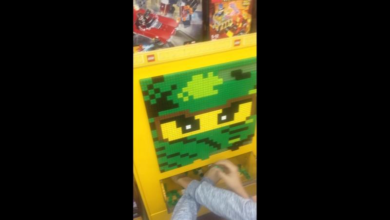 Собрали из Лего лицо Ллойда (из лего ниньдзяго)
