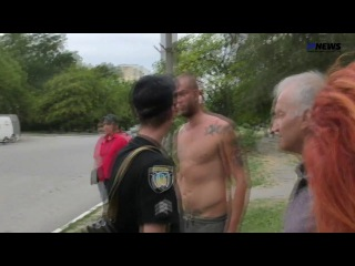Бандиты борзеют перед сотрудниками полиции