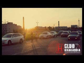 Встреча Honda Club Khakassia  и Mazda Хакасия.Ночные покатушки по Абакану.