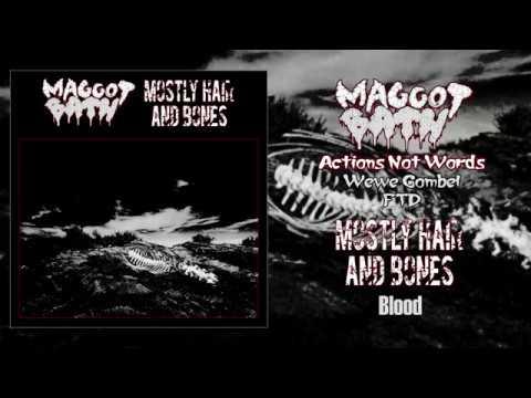 Maggot Bath Mostly Hair and Bones split FULL ALBUM 2018 Sludge Grindcore Drone Noise
