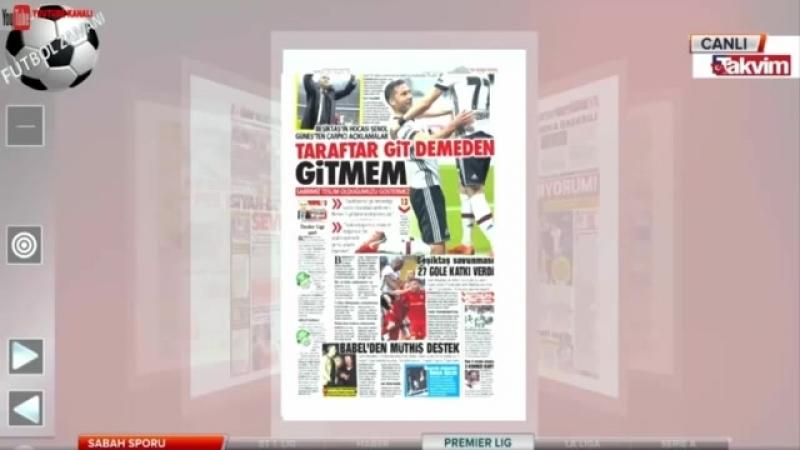 Beşiktaş 2 0 Kayserispor Şenol Güneş Taraftar Git Demeden Gitmem